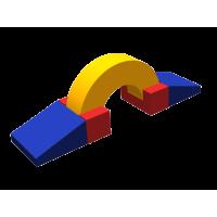 Мягкий спортивный модуль Баррикада