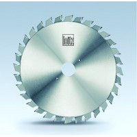 Пила дисковая подрезная, раздвижная с усиленным корпусом 120х20х2.8-3.6, FZ, Z24 (12+12), Leitz