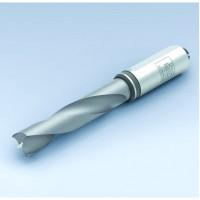 Сверло для глухих отверстий, массив твердого сплава, хвостовик 10 мм, без направл. ленточки