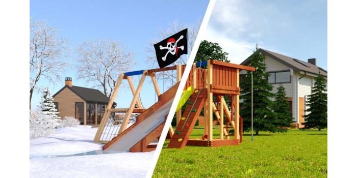 Детская игровая площадка Савушка 4 сезона - 1