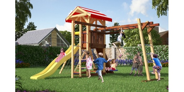 Детская площадка из дерева Савушка - 8